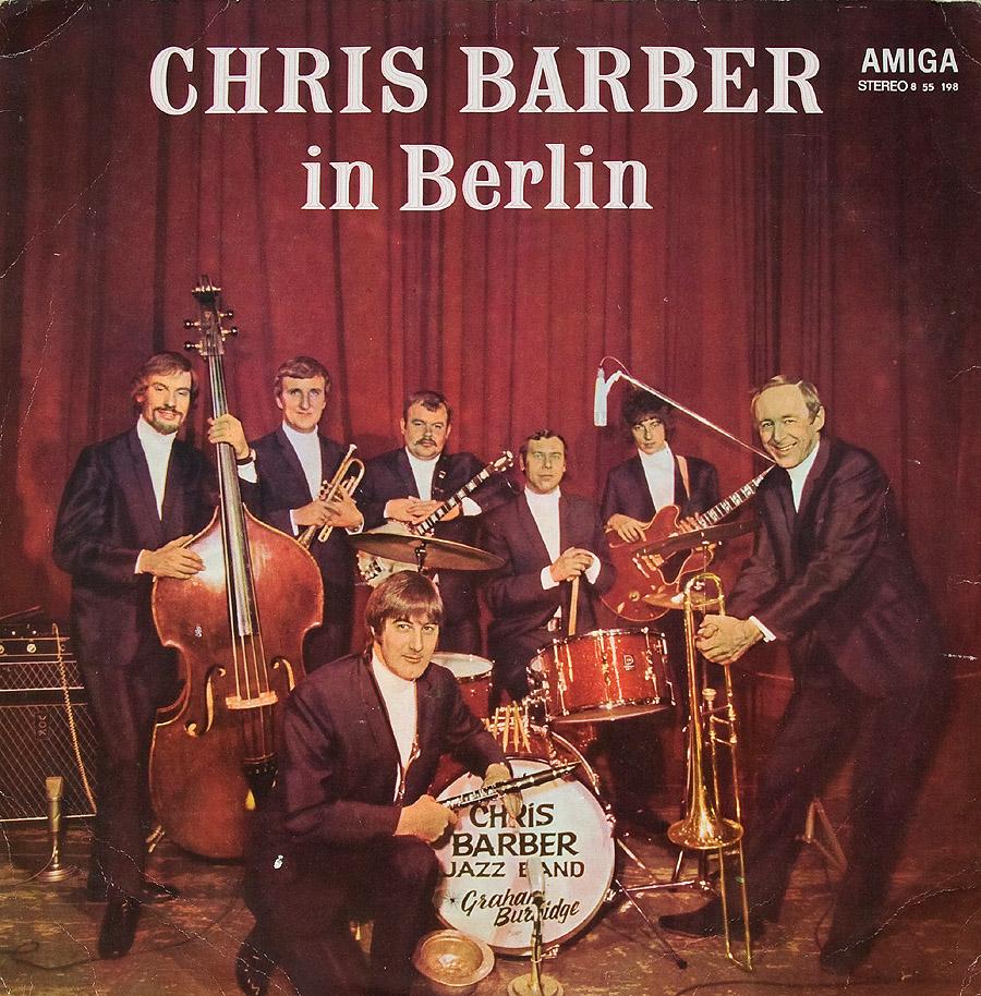 Chris Barber Lps Chris Barber In Berlin East German