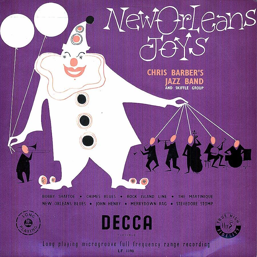 Chris Barber LPs: New Orleans Joys