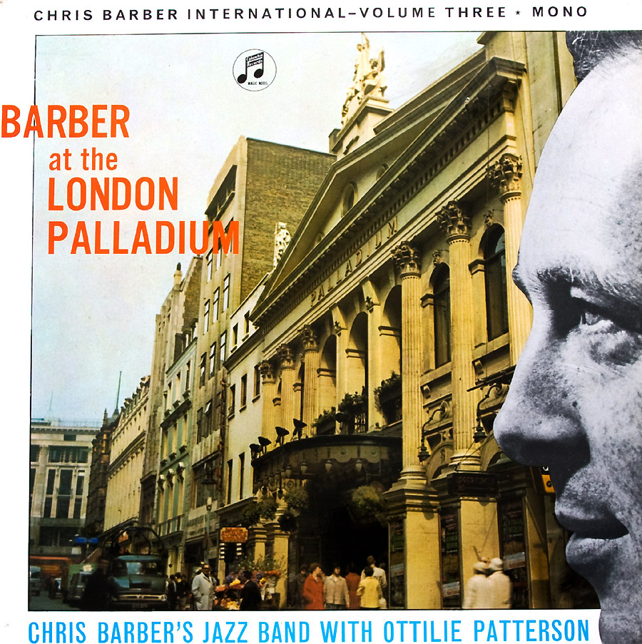 chris barber lps chris barber international vol 3 barber at the london palladium. Black Bedroom Furniture Sets. Home Design Ideas