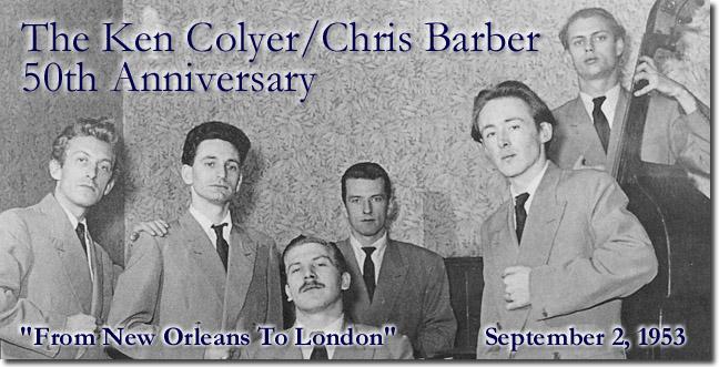 Chris Barber/Ken Colyer 50th Anniversary