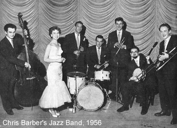 Chris Barber: Chris Barber's Jazz Band with Ottilie Patterson, 1956