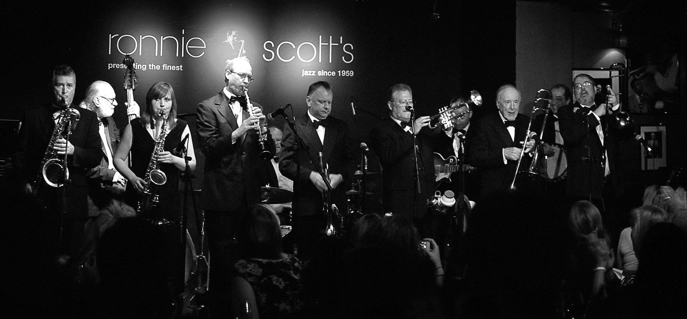 Chris barber and the big chris barber band chris barber jazz sandy letham sent us these 2 great photos from the 2013 concert at ronnie scotts club in london malvernweather Images